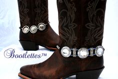 Cowgirl's Trophy (foreground) & Cowgirls Honor (Background), Bootlettes Inc, USA.