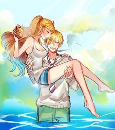 One Piece, Sanji x Nami