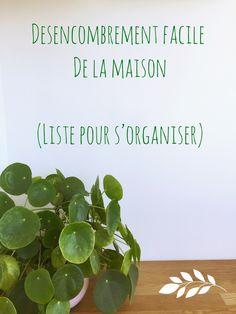 desencombrer facilement sa maison ! liste pour s'organiser et trier les choses petit a petit  #minimalism #homeorganization #home #trier #organiser #rangement