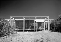 The Walter W. and Elaine Walker Guest House . Paul Rudolph/ Ralph Twitchell. Sanibel Island, Florida. 1952
