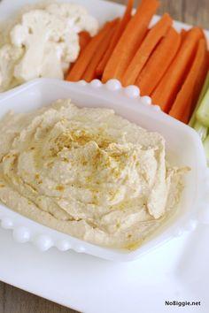 how to make the creamiest homemade hummus | NoBiggie.net