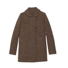 Tocca Tweed Wool Coat
