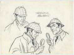 """Résultat de recherche d'images pour """"sherlock holmes drawing"""""""