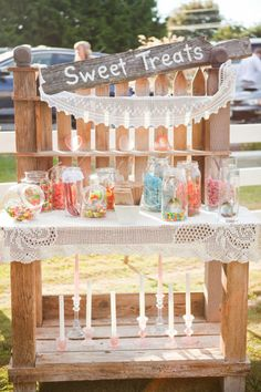 Sweet Treats - Abbotsford Backyard Wedding from Justine Russo Photography