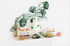 01 Tropical summer night Styled Shoot