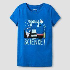 Girls' Graphic Tee Cat & Jack™ - Science : Target