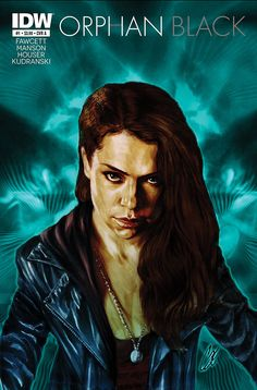 Cover art by Cat Staggs - Orphan Black IDW Comics - #BasedOnTV #TV #ComicBooks