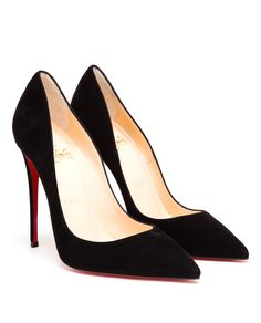 CHRISTIAN LOUBOUTIN | So Kate Suede Pumps