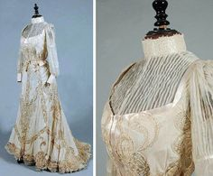 Wedding gown, early 20th century. Kerry Taylor/Artfact