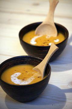 soupe courge butternut lait coco