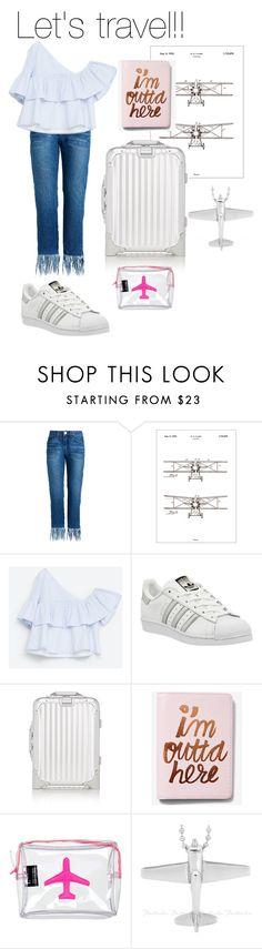 """""""✈️✈️✈️✈️"""" by martacg2014 ❤ liked on Polyvore featuring Bomedo, Zara, adidas, Express and Emma Lomax"""