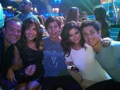 Selena Gomez Jake T Austin Maria Canals-Barrera doing the duggy