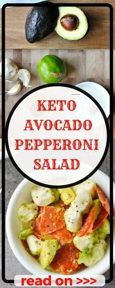 Potato and soft-boiled egg mat - Recipe Guide Keto Avocado, Avocado Salad Recipes, Ketogenic Salads, Ketogenic Diet, Keto Foods, Keto Recipes, Healthy Recipes, Ketogenic Recipes, Healthy Desserts