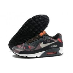 Nike Air Max 90 New Prem Tape Mens Shoes Black Coffee