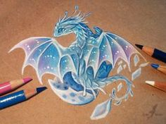 Want to discover art related to dragons? Check out inspiring examples of dragons artwork on DeviantArt, and get inspired by our community of talented artists. Cute Dragon Drawing, Dragon Sketch, Fantasy Drawings, Cool Drawings, Creature Drawings, Animal Drawings, Fantasy Dragon, Fantasy Art, Fantasy Landscape