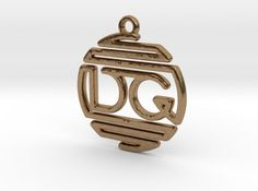 D & G Monogram Pendant by Jilub