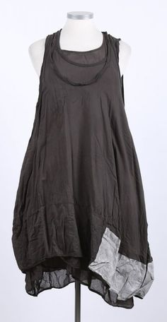 rundholz dip - Kleid 3 in 1 Cotton Paint mohn - Sommer 2015 - stilecht - mode für frauen mit format...