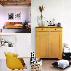 5 idées pour une déco jaune moutarde – Ponio