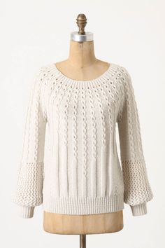 purl-wise pullover from anthro