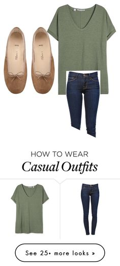 """""""Casual"""" by trainergirl76 on Polyvore featuring Frame Denim"""