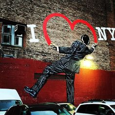 Always, some of the best street art in NYC. By k01in | NYC Hashtags