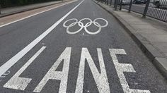 In London, visitors and athletes can use the express Olympic Games Lane.