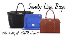 A US Giveaway with Sandy Lisa Bags: Win a bag of YOUR choice! - Sensible Stylista  #SandyLisaBags