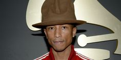 Love Pharrell and his hat! Canadiana all the way, baby!