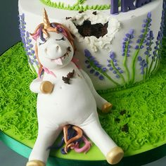 Hungry Lazy Unicorn birthday cake!