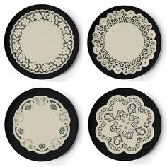 dollhouse printable doilies