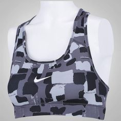 Top Fitness Nike Victory Compression Quarry Bra - Adulto