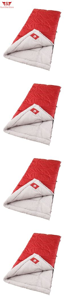 Sleeping Bags 87100: Sleeping Bag Cool Weather Camping Coleman Palmetto Outdoor Red Bed Sleep -> BUY IT NOW ONLY: $43.84 on eBay!