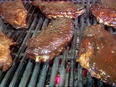 Alligator Ribs recipe from BBQ with Bobby Flay via Food Network