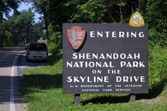 The Skyline Drive runs 105 miles north and south along the crest of the Blue Ridge Mountains in Shenandoah National Park and is the only public road through the park. You can enter Shenandoah at four places: Front Royal near Rt. 66 and 340, Thornton Gap at Rt. 211, Swift Run Gap at Rt. 33, and Rockfish Gap at Rt. 64 and Rt. 250 (also the northern entrance to the Blue Ridge Parkway). It takes about three hours to travel the entire length of the park on a clear day.
