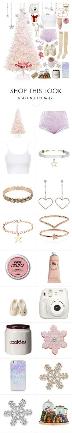 """""""Christmas in Sweden 🎄🎁"""" by tinypinkunicorn ❤ liked on Polyvore featuring Holiday Lane, Topshop, Forever 21, Accessorize, Crabtree & Evelyn, Fujifilm, Threshold, BillyTheTree and Christopher Radko"""