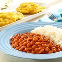 This authentic Puerto Rican Rice and Beans recipe only takes 20 minutes—start to finish. Why not try it tonight!