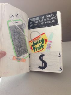 Wreck this journal ideas.... Tracing
