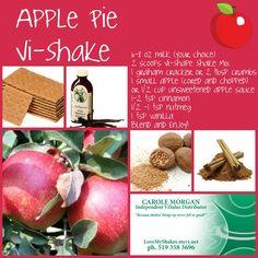 Apple Pie Vi-Shake  order visalus products at: http://milfshake.myvi.net