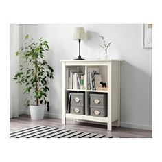 IKEA - TOMNÄS, Shelving unit, white, , Keep your favorite items visible on the open shelves, and hide away everything else in boxes or baskets.Easy to place anywhere in your home.