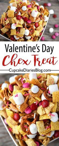 Valentine's Day Chex Treat