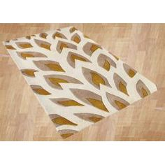 @Overstock - Inspired by the shape of natural flames, this intricate contemporary area rug incorporates hues of silver and gold, which contrast beautifully with the ivory background. Offering lasting comfort, this area rug is made with a New Zealand wool blend.http://www.overstock.com/Home-Garden/Handmade-Flame-Inspiration-Beige-Wool-Rug-8-x-10/6213061/product.html?CID=214117 $271.99