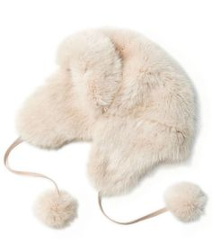 Faux-Fur Trapper Hat | They're hanging from the chimney with care, it's time to fill them with these festive and inexpensive treats. See more great gifts for everyone on your list.