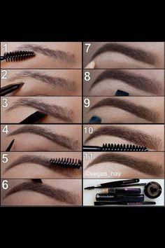 Eyebrow trick :)