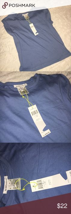 🎉PRICE DROP🎉 BCBG crew neck pocket t-shirt BCBGeneration t-shirt NWT. No stains, rips or tears. ACCEPTING REASONABLE OFFERS ☺ BCBGeneration Tops Tees - Short Sleeve