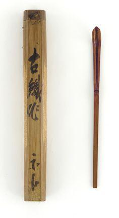 Tea Scoop Furuta Oribe , (Japanese, 1544 - 1615)