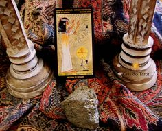 Rainha de Ouros-Nefertari Tarot
