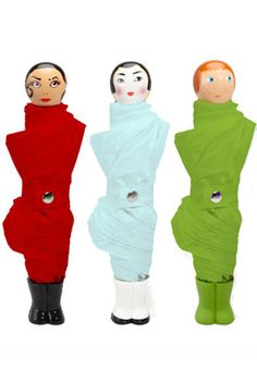 i want an umbrella that resembles ethnic girls in multicolored straight jackets!