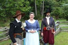 Living history in Jamestown 17th Century