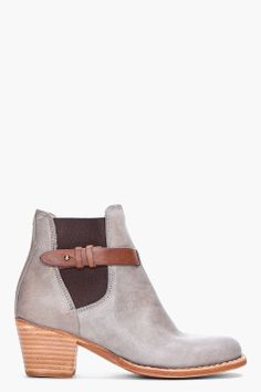 RAG & BONE //  GREY DURHAM BOOTIES