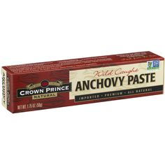 (2 Pack) Crown Prince Natural Anchovy Paste, 1.75 oz - Walmart.com - Walmart.com